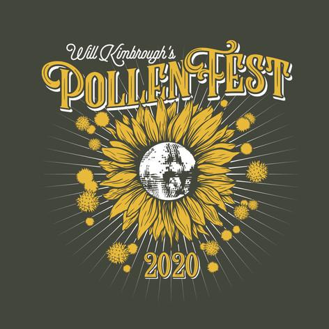 Pollen Fest 2020 T-Shirt Design