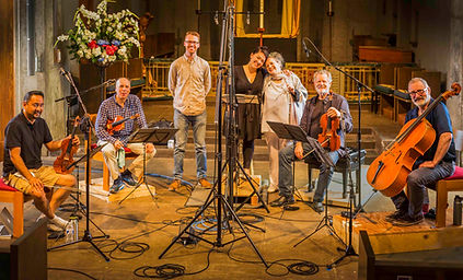 Alexander String Quartet with Mezzo Soprano Kindra Scharich. Recording Engineer and Producer, Matt Carr. Mahler Song Cycles.