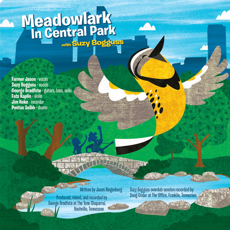 Meadowlark In Central Park