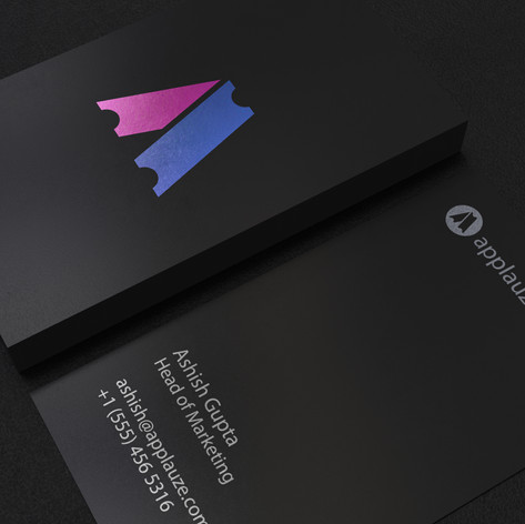 Applauze Business Card