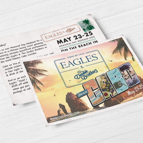 Eagles Cabo Postcard