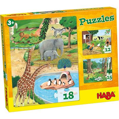Premiers puzzles animaux