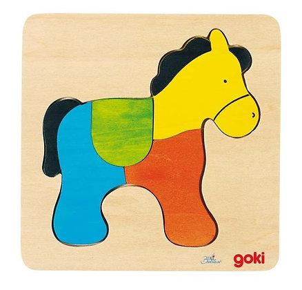 """Premier puzzle """"cheval"""""""