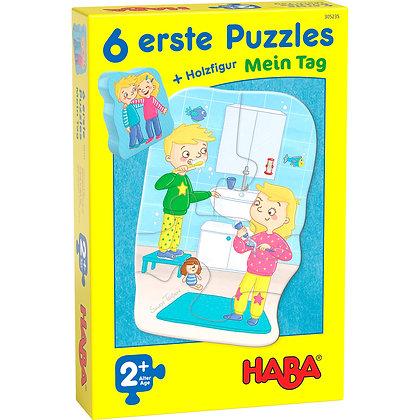 """Puzzles """"ma journée"""" Haba"""