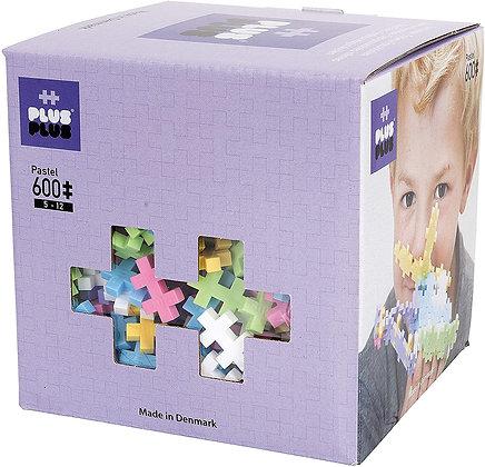 Box bascis pastels - 600 pcs