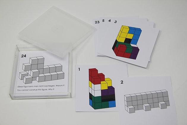 Cartes d'exercices pour  Cube SOMA