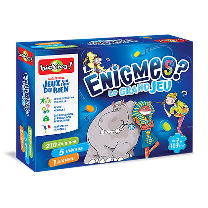 Enigmes - Le grand jeu