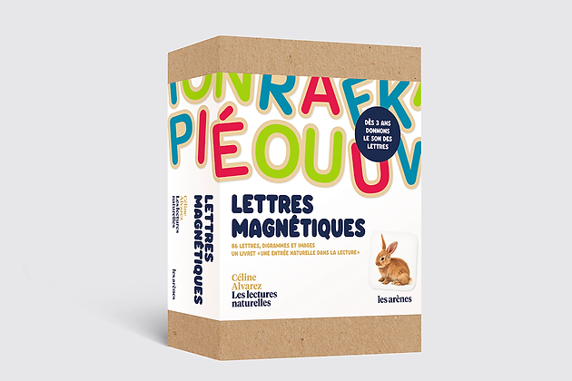 Coffret lettres magnétiques - Céline Alvarez