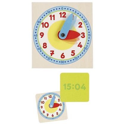 Coffret pour apprendre à lire l'heure