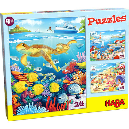 Puzzle À la mer Haba