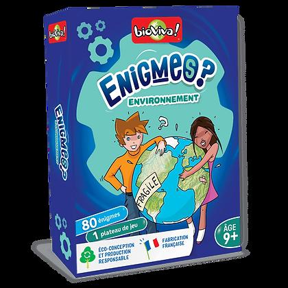 Enigmes - Environnement