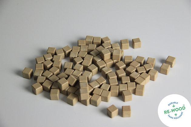 Lot de 100 cubes de l'unité