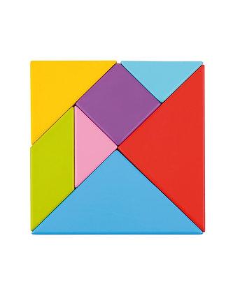 Tangram couleurs avec modèles