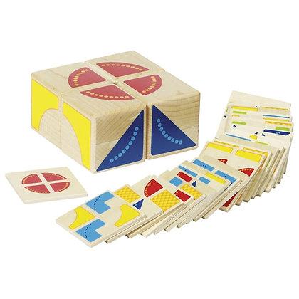 puzzle Kubus 4 cubes