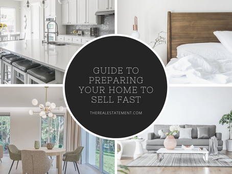 Guide To Preparing Your Home To Sell Fast