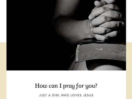 Activation of Prayer