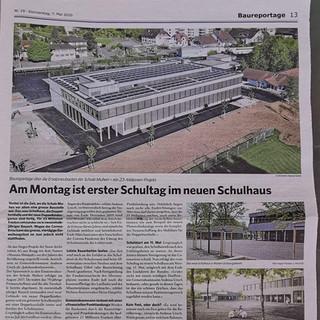 Schulhaus -Turnhalle Muhen