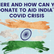 Foundations & organisations you can donate to aid India's covid crisis