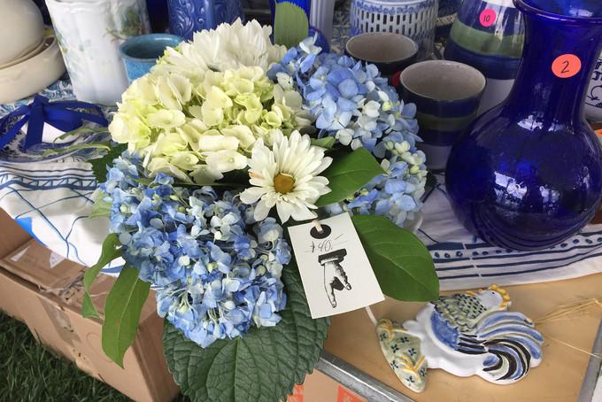 Flower Mart White Elephant Sale