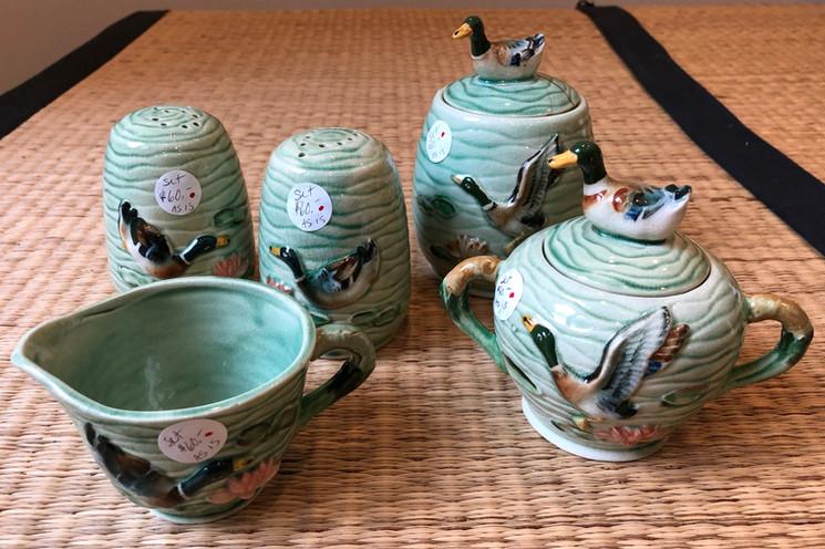 Vintage Ceramic Service Set