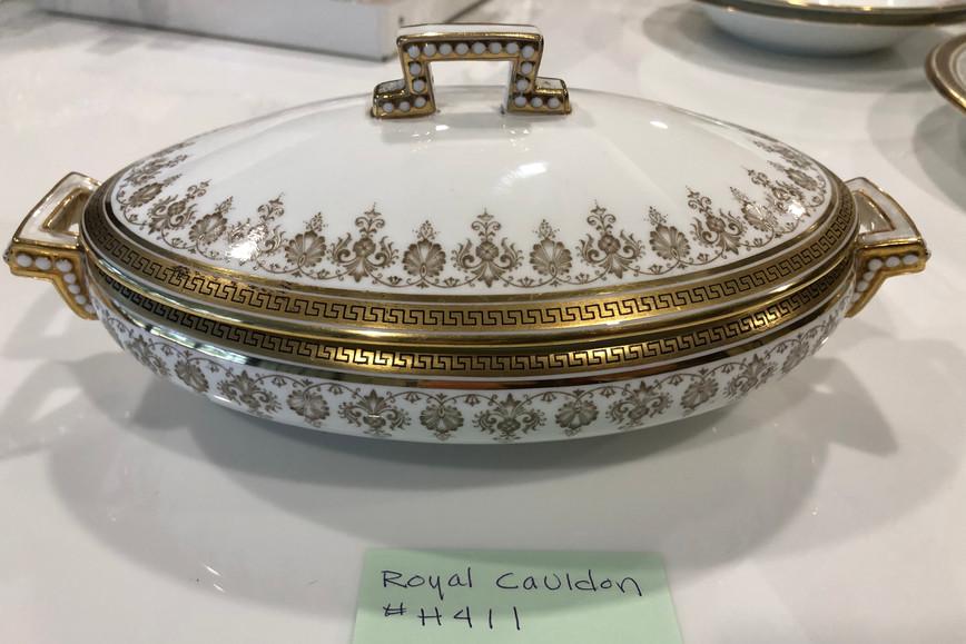 Royal Caldron China Covered Vegetable Dish