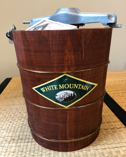 Brand New White Mountain Ice Cream Maker