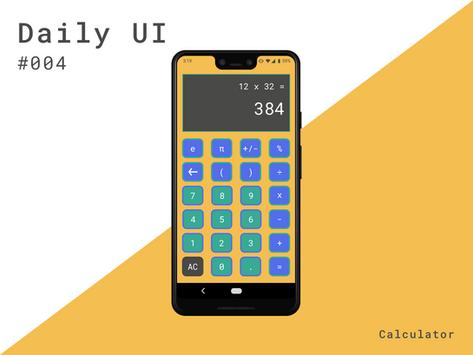 Daily UI #004 Calculator