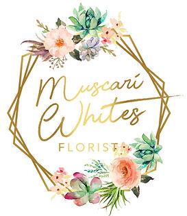 Muscari Whites Florist logo