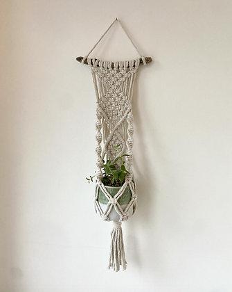 Tribal twist, plant hanger