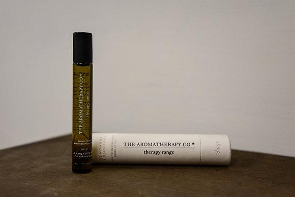 Essential oil:  lavender and chamomile