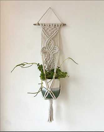 Elegant wave, plant hanger