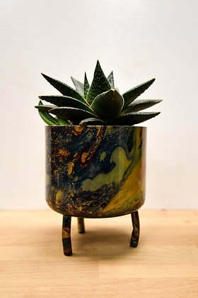 Metal Marble pot, Small