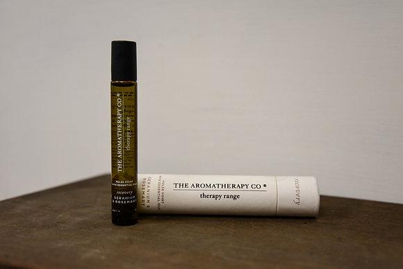 Essential oil:  Geranium and rosemary