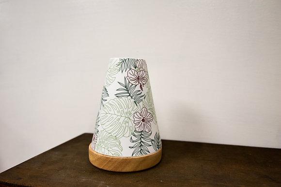 Hawaiian candle holder