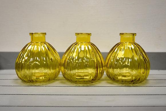 Glass bottle, Yellow