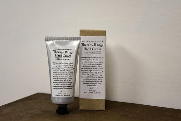 Hand cream: Wild rose & Vetiver