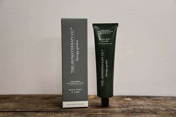 Hand Cream: Mint and lime
