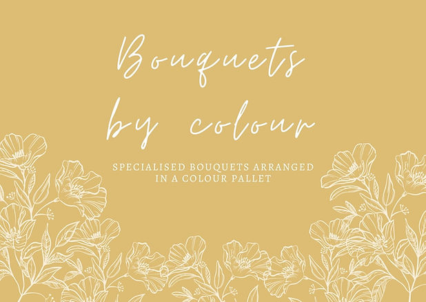 Bouquets by colour in Bromley