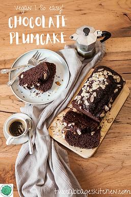 Easy Chocolate Plumcake [VEG]
