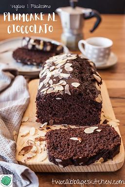 Plumcake facilissimo al cioccolato   Easy Chocolate Plumcake [VEG]