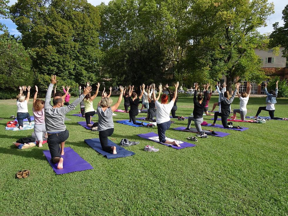 Samadhi Bien Etre Yoga Brunch à la Magde