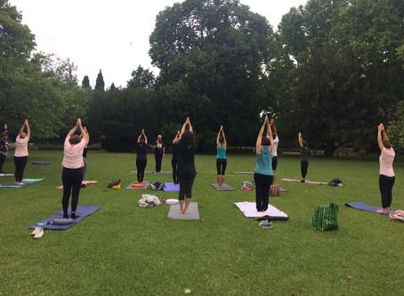 Yoga Brunch à La Madeleine
