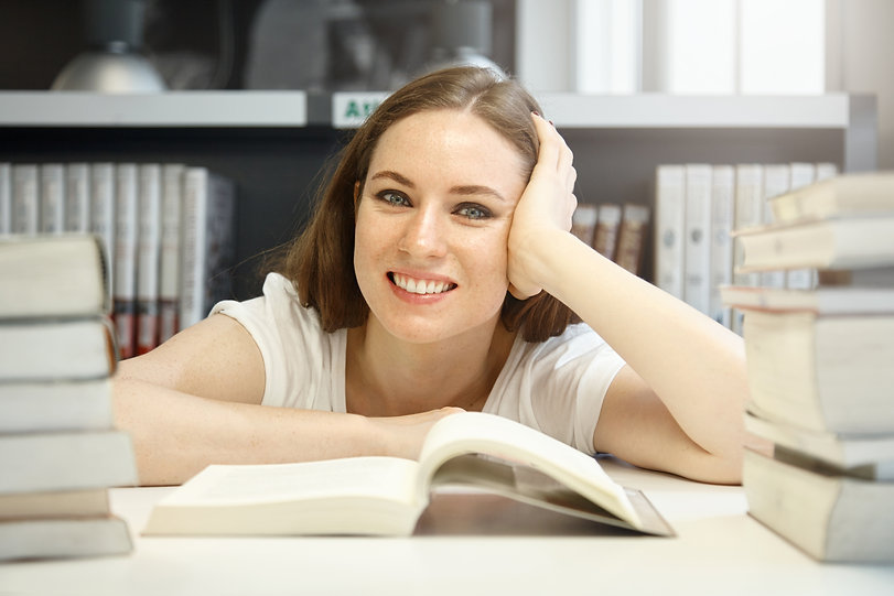 caucasian-female-student-good-humor-tryi