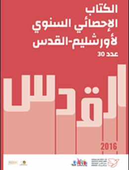 השנתון הסטטיסטי לירושלים 2016