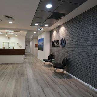 תכנון ועיצוב משרדים בפארק המדע רחובות