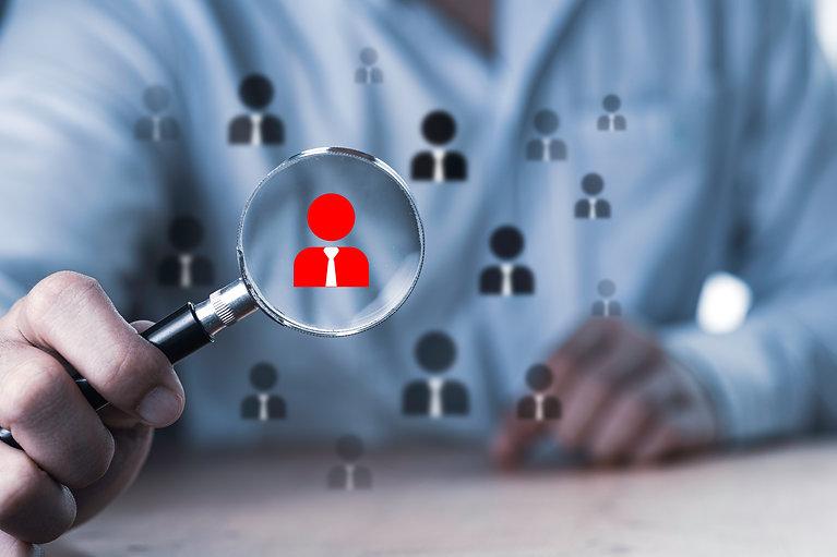 human-development-recruitment-concept-business-man-using-magnifier-glass-searching-proper-