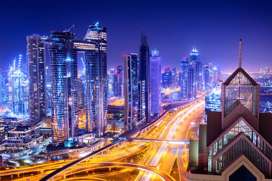 amazing-skyline-cityscape-with-illuminat