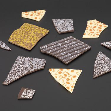 שוקולד בעיצובים