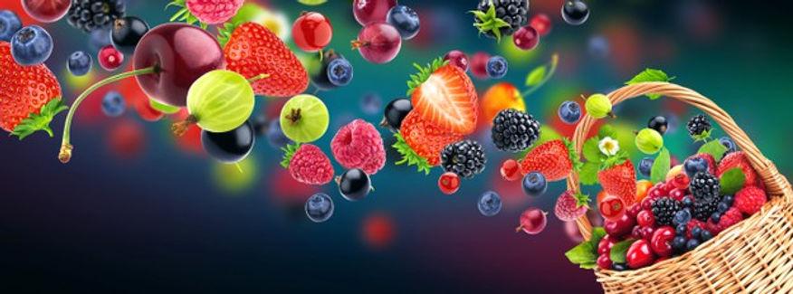 fresh-berries-flying-into-wicker-basket_