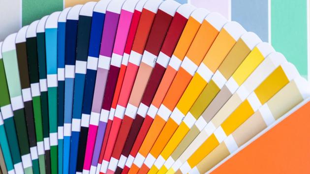 צבעי הבריאה - צבע בהתזה